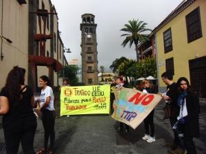 Manifestación en La Laguna (Tenerife) 2