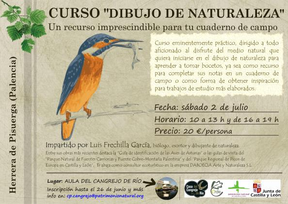 2016 - Cartel Curso Dibujo Naturaleza