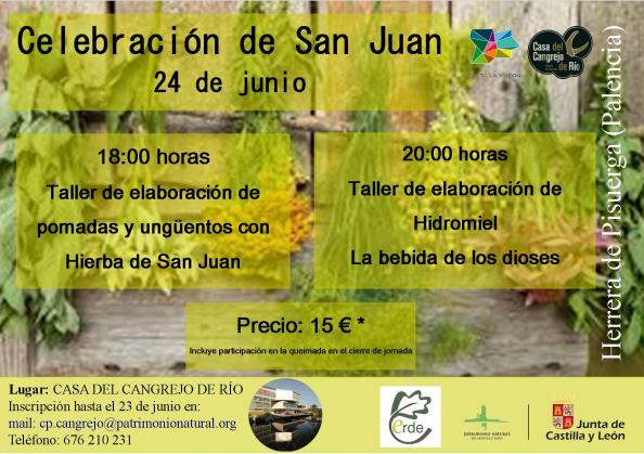 Cartel Celebración de San Juan