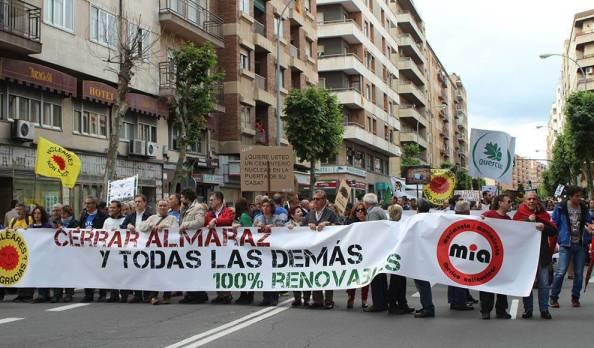Manifestación contra la mina de uranio en Salamanca3